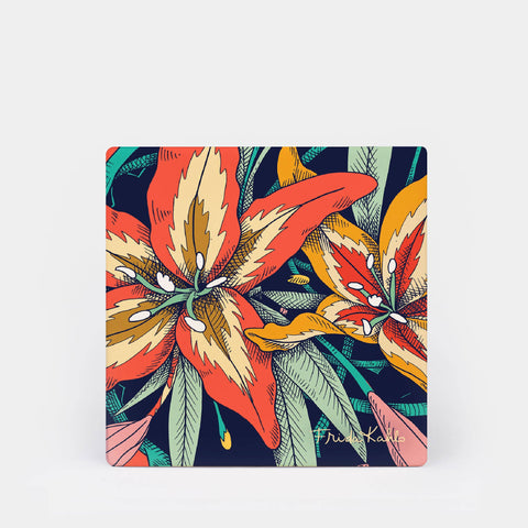 Frida Kahlo™ Tiger Lilies Coaster