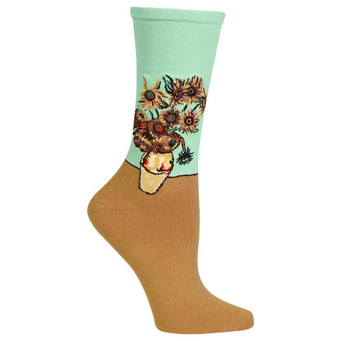 Women's Van Gogh Sunflower Socks