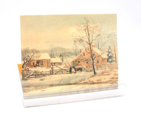 New England Winter Scene - Boxed Notecard Set