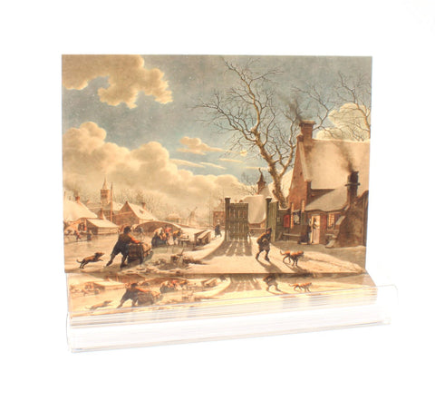 Winter Night in a Dutch Town - Boxed Notecard Set