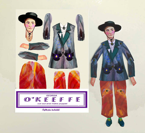 O'Keeffe Cut and Make Puppet