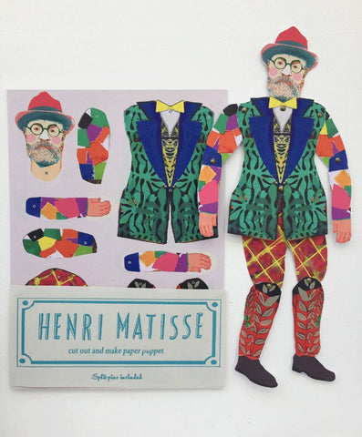 Matisse Cut and Make Puppet