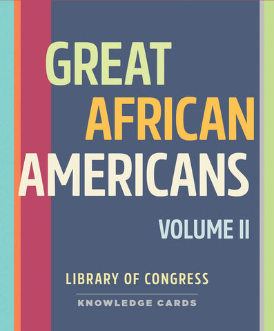 Great African Americans Volume 2 Knowledge Cards