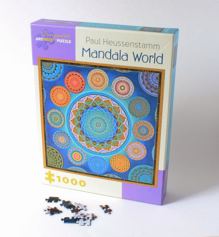 Mandala World Puzzle