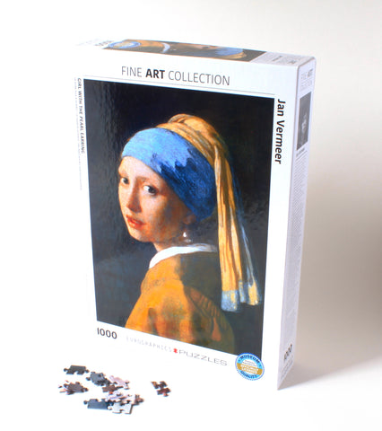 Girl with the Pearl Earring Puzzle