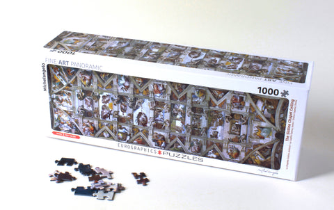 The Sistine Chapel Ceiling Panorama Puzzle