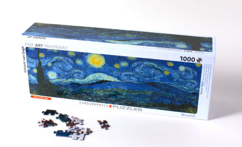 Starry Night Panorama Puzzle