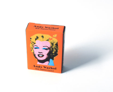 Andy Warhol Marilyn Mini Shaped Puzzle