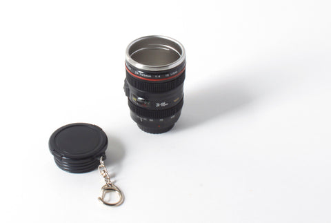 Camera Lens Keychain Cup