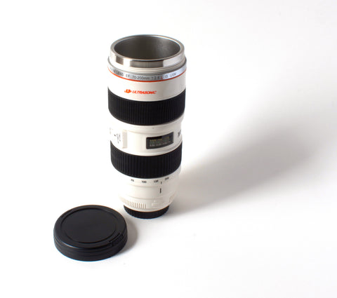 Superzoom Camera Lens Coffee Mug