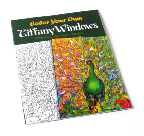 Color Your Own Tiffany Windows | Coloring Book