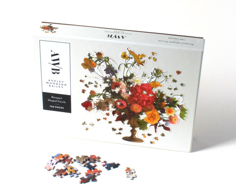 Ashley Woodson Bailey Shaped Jigsaw Puzzle