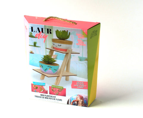 LaurDIY Mini Planters Kit