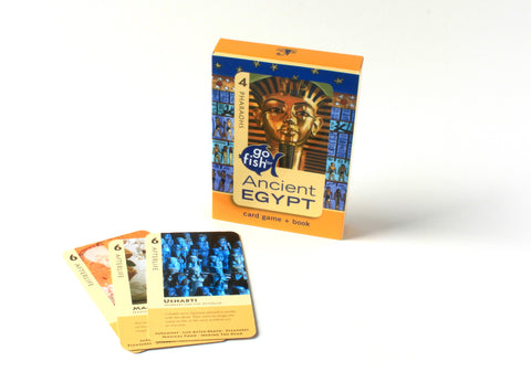 Ancient Egypt GoFish Art Cards