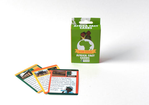 Africa Fact Cards for Kids