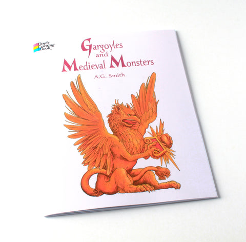 Gargoyles & Medieval Monsters | Coloring Book