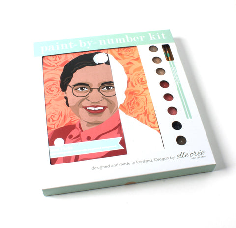Rosa Parks | Paint-by-Number Kit