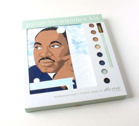 Martin Luther King Jr. | Paint-by-Number Kit
