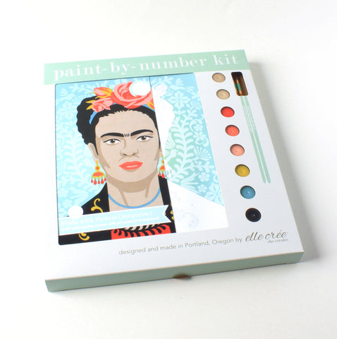 Frida with Flowers | Paint-by-Number Kit