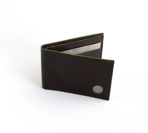 Stewert Stand Stainless Steel Wallet | Aperture Slimfold Lime