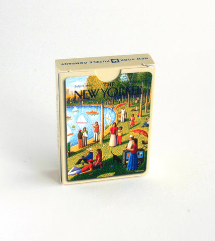 New Yorker Fine Arts Cartoons Playing Cards