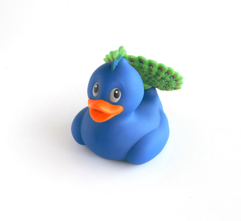 Peacock Rubber Duck