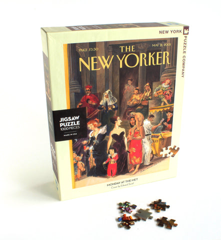 New Yorker cover Monday at the Met | Puzzle