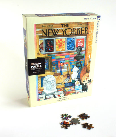 New Yorker cover Art Shop | Puzzle
