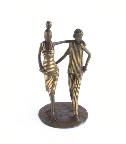Lustrous Life Family Beginning Sculpture | Pregnant Mother and Father