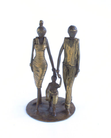 Lustrous Life | Loving Family Sculpture