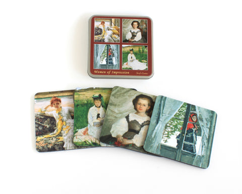 Women of Impressionism Coaster Set