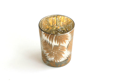Golden Fern Votive