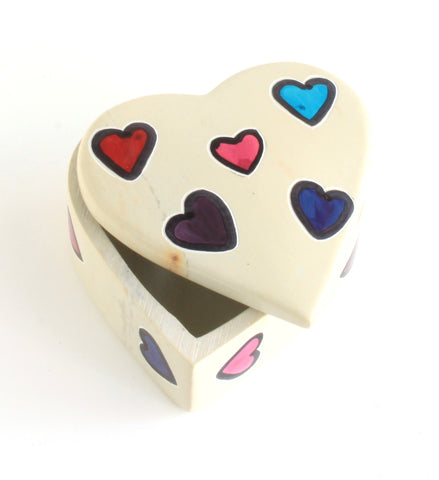 Soapstone Heart Box