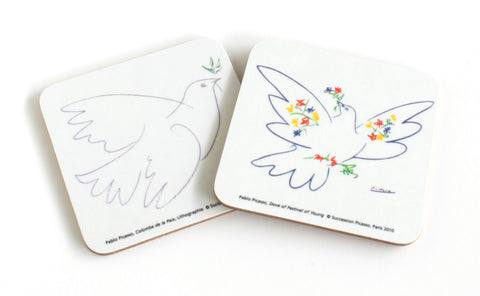 Picasso Doves Coaster Set