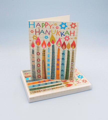 Hanukkah Candles Boxed Notecards