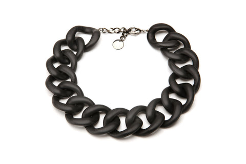 Ana Choker Matte Black | PONO by Joan Goodman