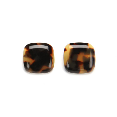 Lara Clip Earrings Tortoise Shell | PONO by Joan Goodman