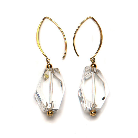 PONO by Joan Goodman Yvette Earrings | Crystal
