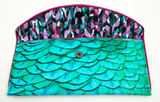 Peacock Clutch designed by Kent Stetson | inside