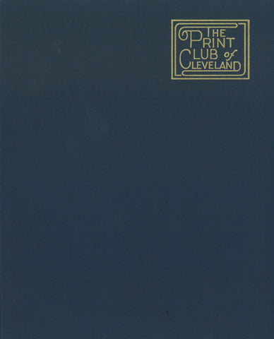 The Print Club of Cleveland 1969-1994 | Blue Book