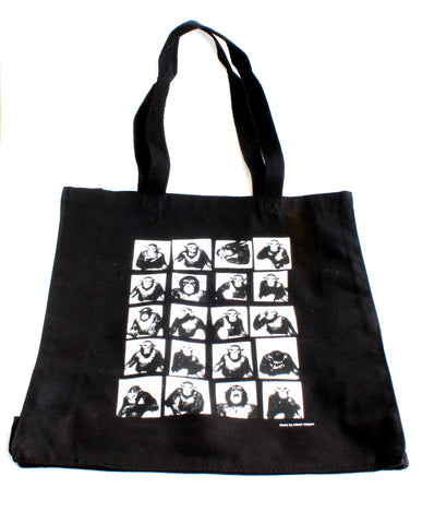 Proof: Photography in the Era of the Contact Sheet Tote Bag | Monkeys with Masks