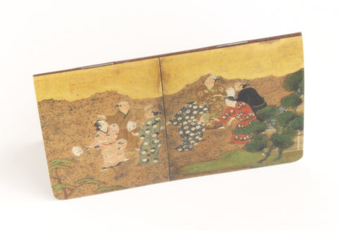 Amusements at the Golden Pavilion Mini Notebook