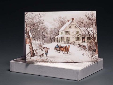 American Homestead, Winter Boxed Notecards