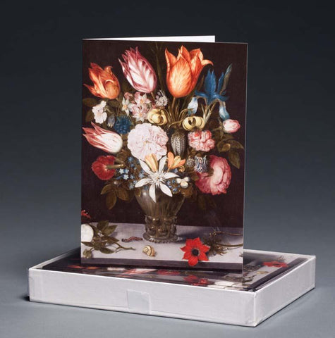 Flowers in a Glass Boxed Notecards