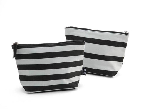 CMA Stripe Cosmetic Case