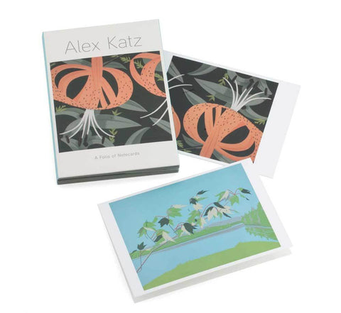 Alex Katz Notecard Folio