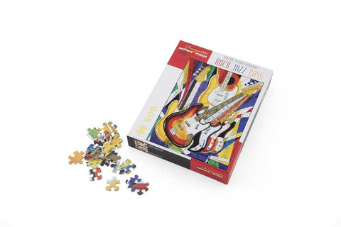 Rock Jazz Bass Puzzle