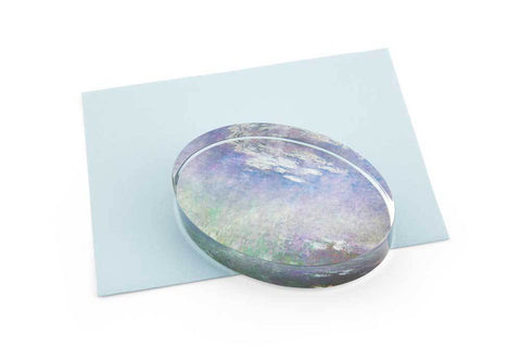Water Lilies Paperweight