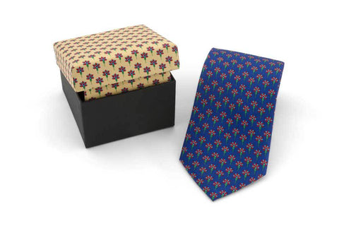 Mughal Patterned Tie