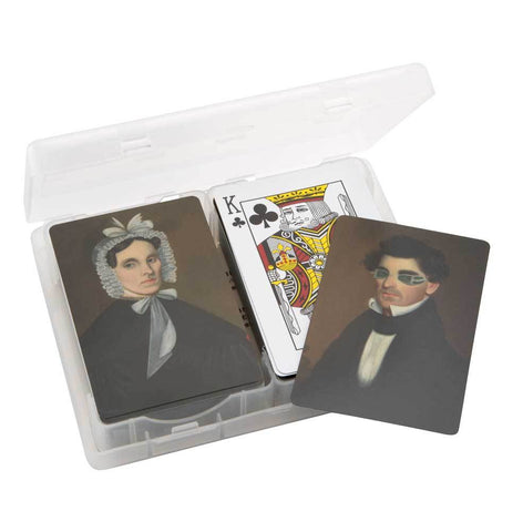 Nathaniel & Sally Olds Playing Cards Double Deck